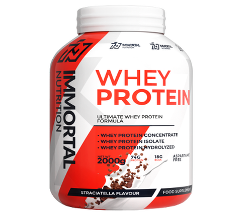 Immortal nutrition whey protein 2kg for Testosteron w tabletkach