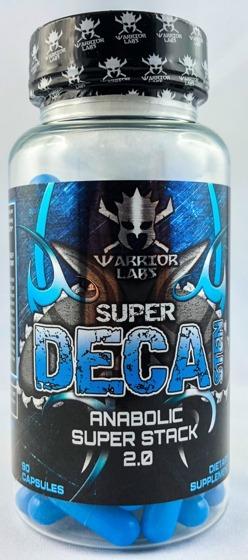 Warrior labz super deca sten 60 caps stak prohormonowy for Testosteron w tabletkach