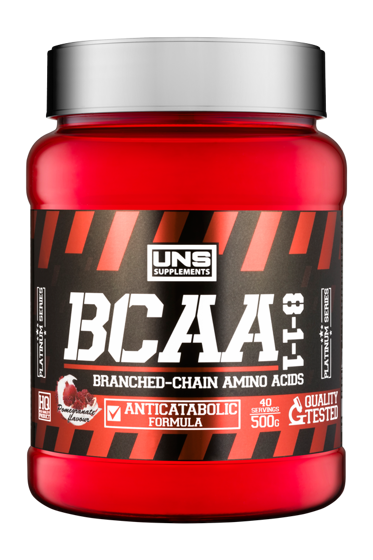 Uns supplements bcaa 8 1 1 500g for Testosteron w tabletkach