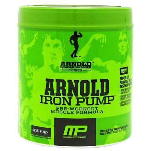 Musclepharm iron pump 180g for Testosteron w tabletkach
