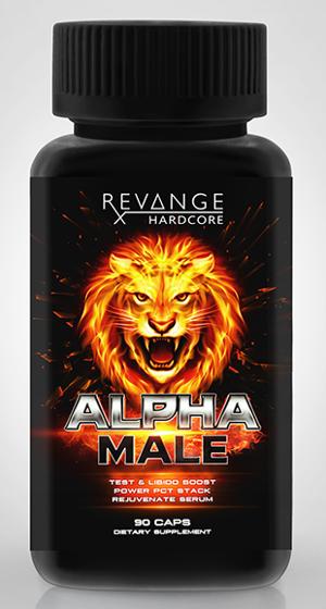 Revange Alpha Male 90 caps - testosterone booster laxogenin