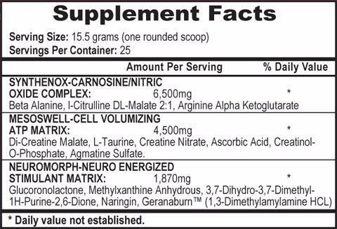APS Mesomorph 388g 1,3 DMAA HCL 100% Oryginal USA