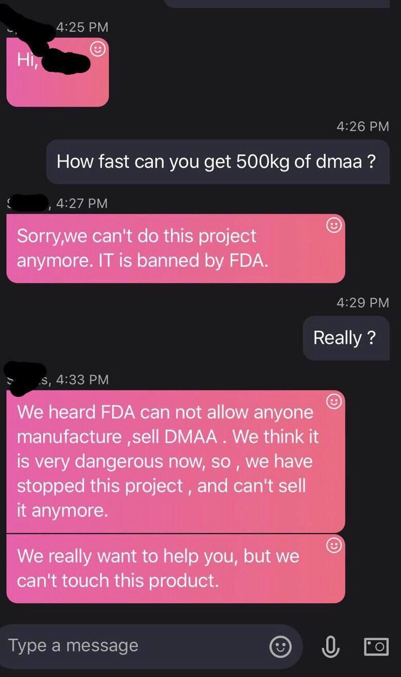 DMAA DMHA Stimulant Agmatine Sparta Kraken Dust Killer labz