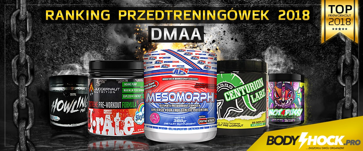 Top 10 List Pre-Workout Dmaa